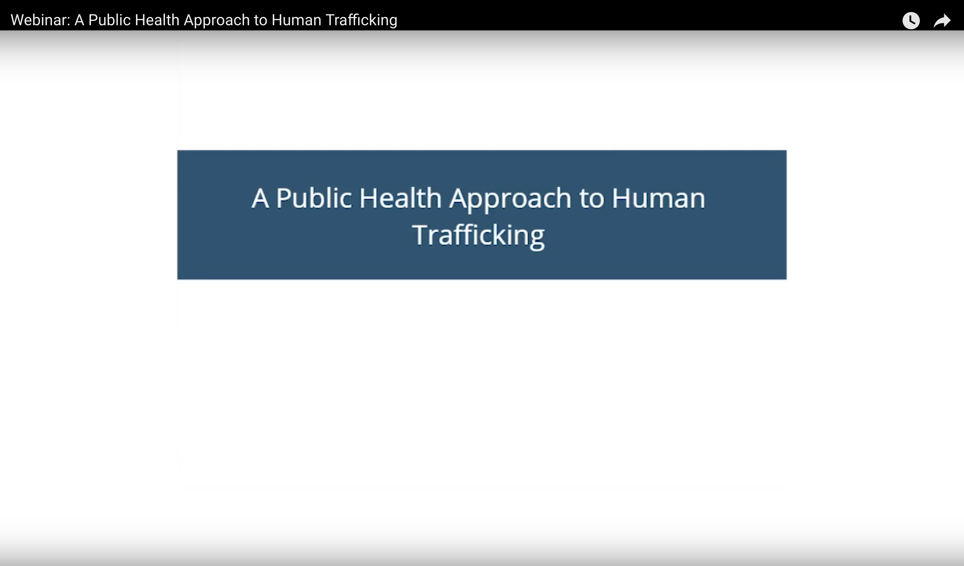 Public Health Approach Youtube Video